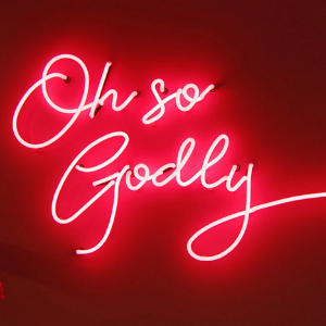 Logo in neon - Godley Jewels Eindhoven