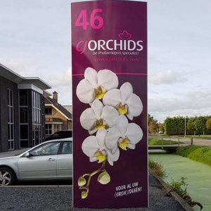 Belettering en signing - CJ Orchids - projectpagina