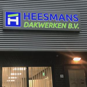 Lichtreclame in led Heesmans - Portfolio Brouwers