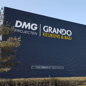 Signing en belettering DMG Group