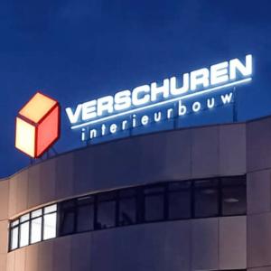 Lichtreclame Verschuren Interieurbouw - Brouwers Reklame