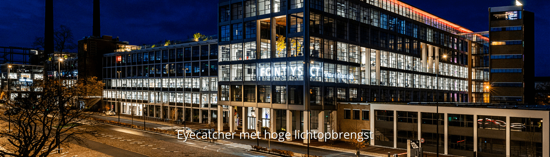 Lichtreclame in led - Fontys Hogescholen - Brouwers Reklame