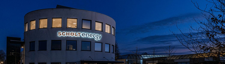Led lichtreclame Scholt Energy