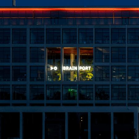 Led lichtreclame voor Brainport Eindhoven