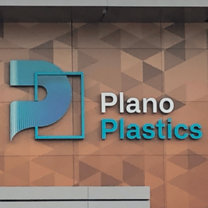 Lichtreclame Plano Plastics
