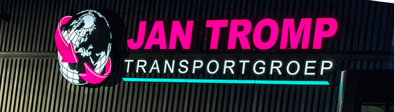Led lichtreclame Jan Tromp Transportgroep - footer