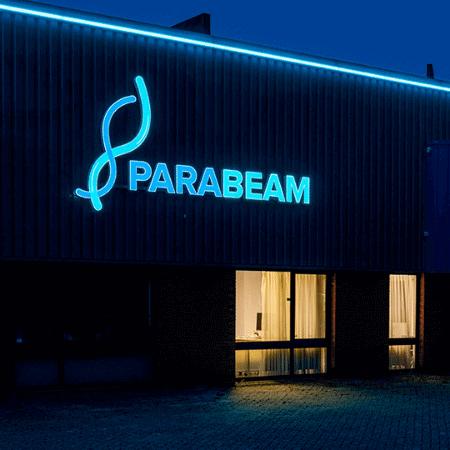 Led lichtreclame voor Parabeam - portfolio 3