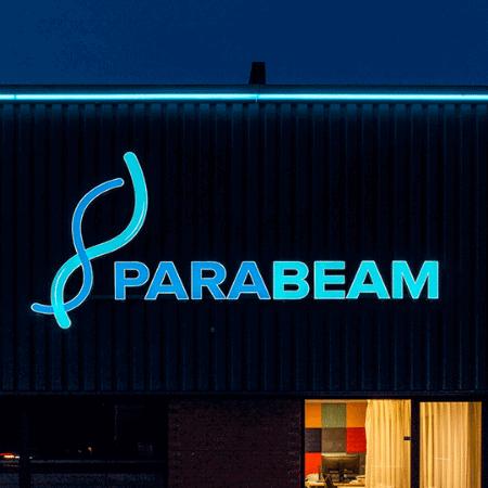 Led lichtreclame voor Parabeam - portfolio 4